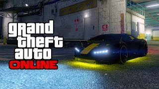 New Neon Underglow Lights Car Customization in GTA Online! (Grand Theft Auto V Multiplayer Next Gen)