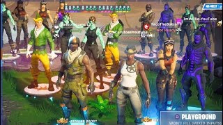 I Made A Custom Scrim But Only OG Skins Were Allowed in, Then Every Rere Skin in Fortnite Joined..
