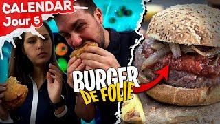 Un Burger complètement dingue de chez Quitoque ! - Jour 5