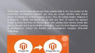 Magento 2 Vs Magento 1- All you should know