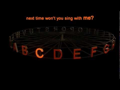 Alphabet Song, ABC Song (Karaoke Version) High Definition (HD)
