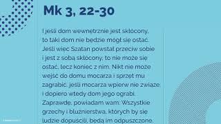 Ewangelia 22 stycznia 2018 Mk 3 22 30