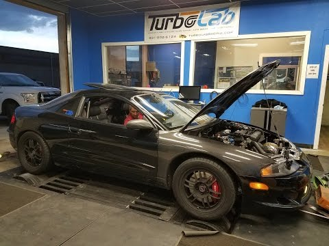 700 HP!!! 1997 Eagle Talon AWD Precision 6266 Big Turbo Dyno
