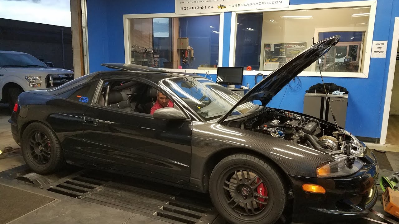 1997 eagle talon awd precision 6266 big turbo dyno