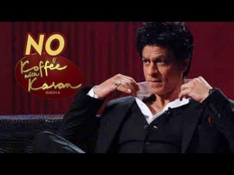 Shahrukh Khan REFUSES to be on Koffee With Karan Season 4 GRAND ...