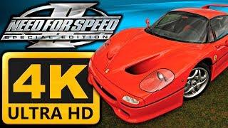 Need for Speed 2 SE - Ferrari F50 Gameplay 4K 60FPS [GTX 970, i7-5820k]