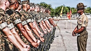 USMC Recruits Final Drill Inspection Parris Island (2019)