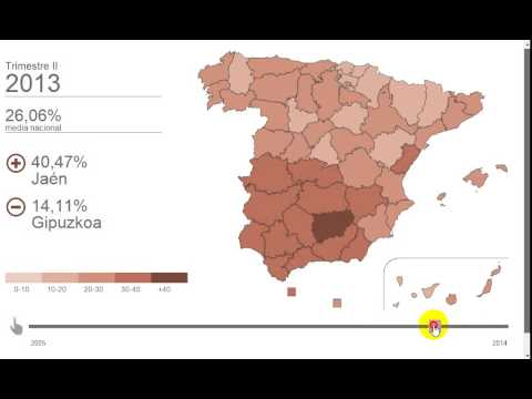 Interactive timeline map using d3 js - YouTube