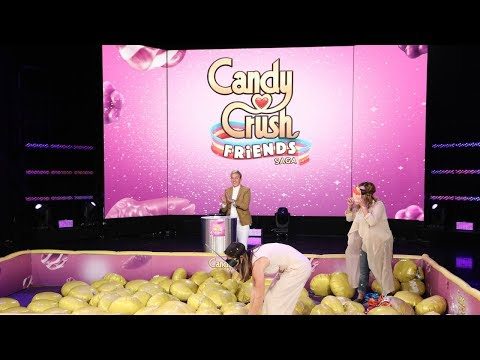 Fans Get Messy in 'Candy Crush with Friends'!