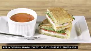 GoodLife Fitness: Dinner In Under An Hour-Tomato Soup Turkey Panini