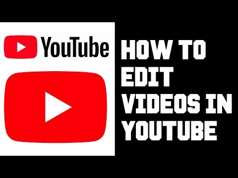 How To Use Youtube Video Editor in Studio Beta - How To Edit Videos in Youtube