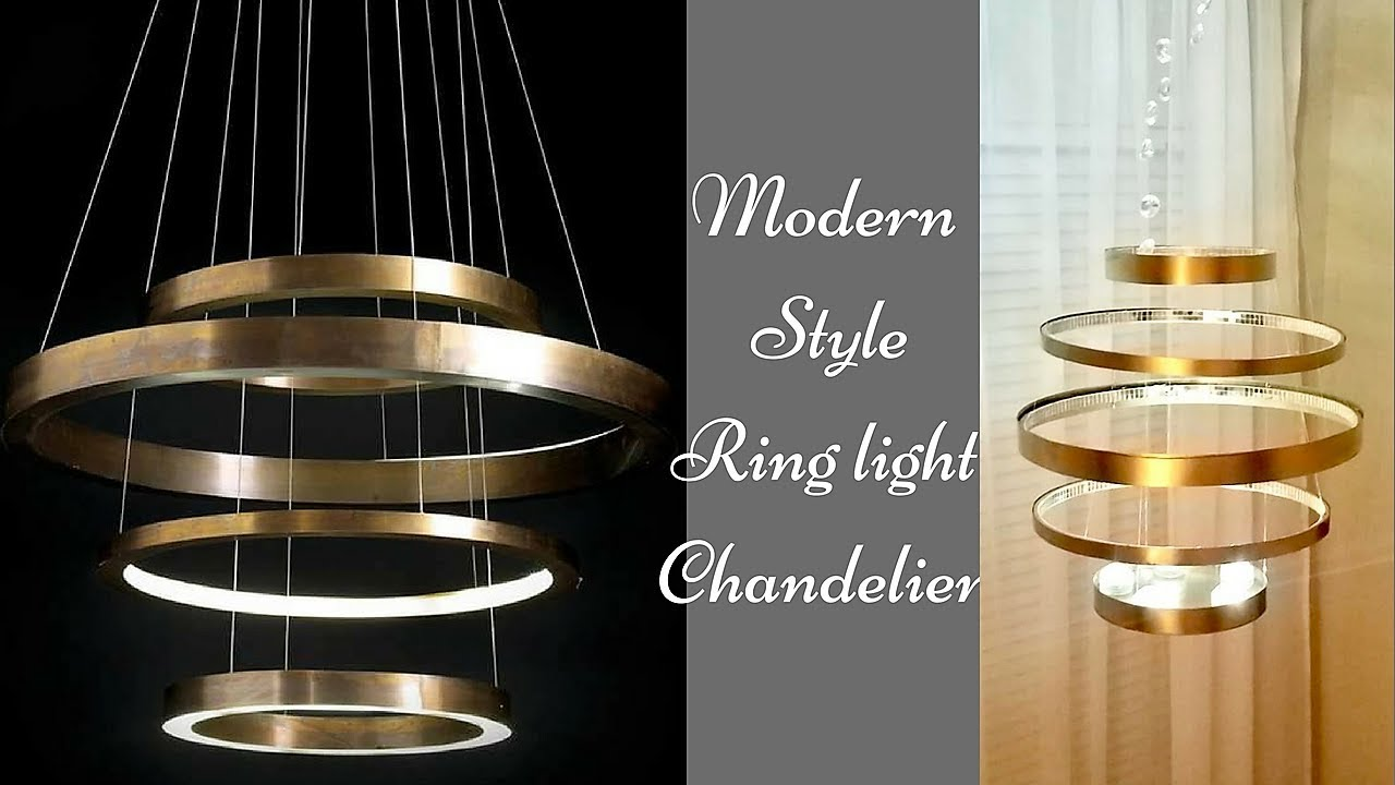 Diy Ring Chandelier