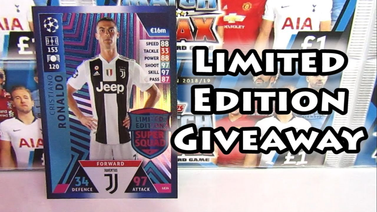 2ae481a3b Match Attax Champions League 2018 19 Giveaway