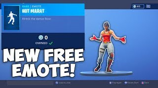 NOUVEAU Hot Marat EMOTE est GRATUIT dans le SHOP! Fortnite ITEM SHOP [23 novembre] Rainz (En)