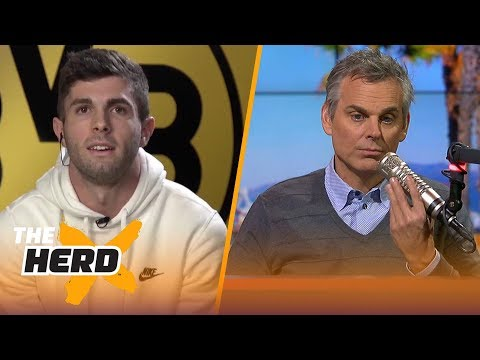 Christian Pulisic talks about winning USMNT Player of the Year | THE HERD