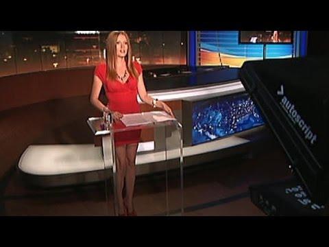 Miriam Smahel Kalisova Beautiful Slovakian Tv Presenter 19.07.2012
