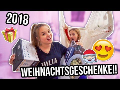 MEINE WEIHNACHTSGESCHENKE 2018 😍🎁 | Vlogmas Tag 24🎅🏼