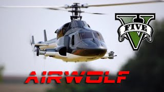 GTA V: Airwolf Intro REMAKE!