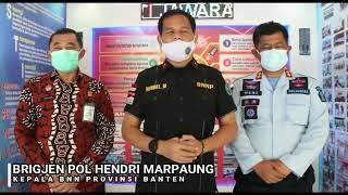 Kepala BNN Provinsi Banten, Brigjen Pol Hendri Marpaung Sambangi Lapas Kls IIA Serang.