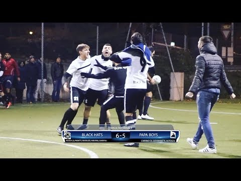 [ Finale Scudetto ] Black Hats - Papa Boys (Calcio a 5)