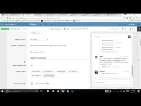 Podio - Agent Workspace Overview