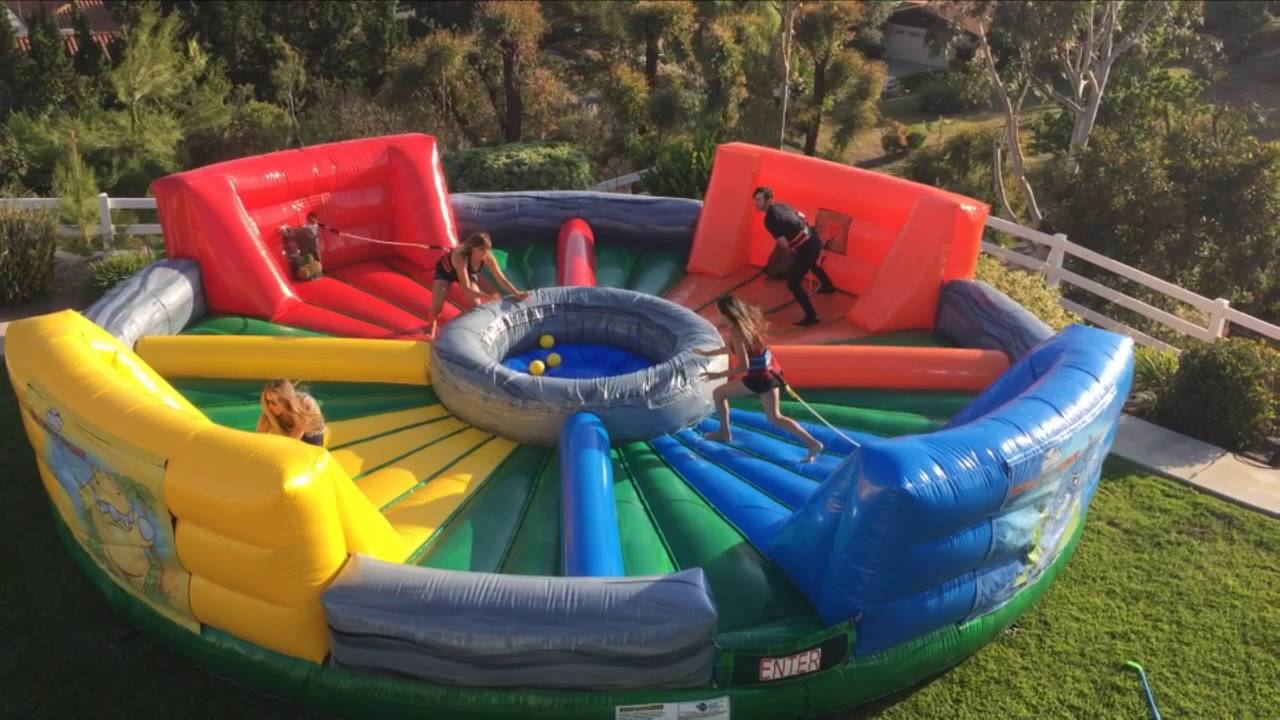 Hungry Hippos Human Interactive Hippo Chow Down Inflatable