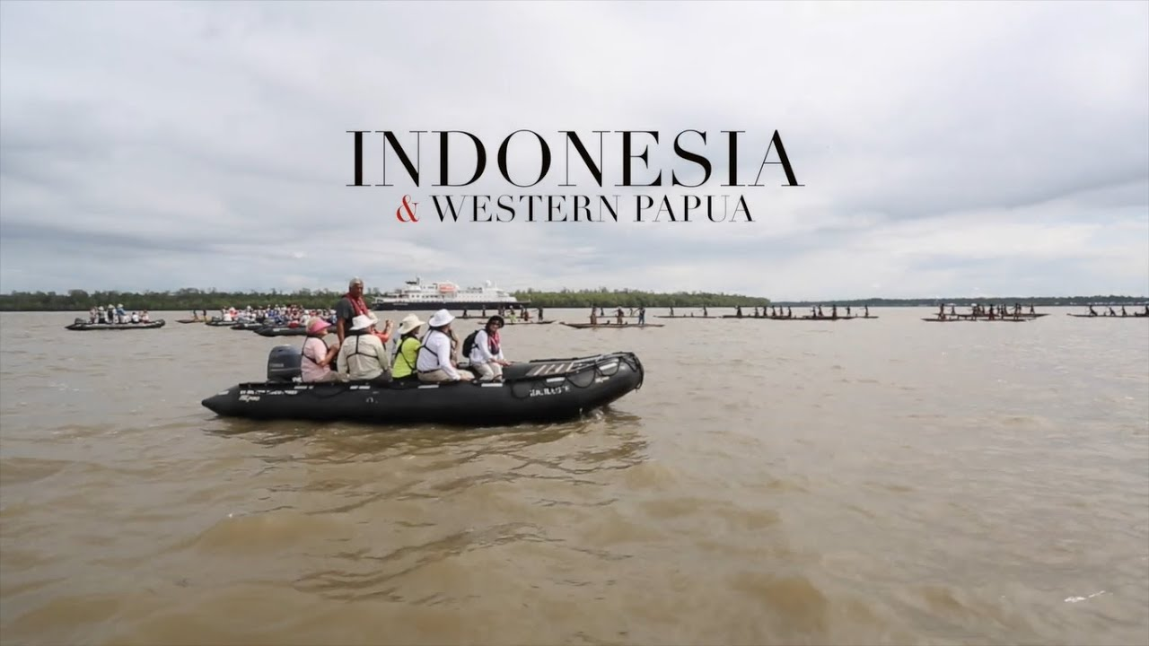 寄港地紹介 インドネシア&西パプア シルバーシー