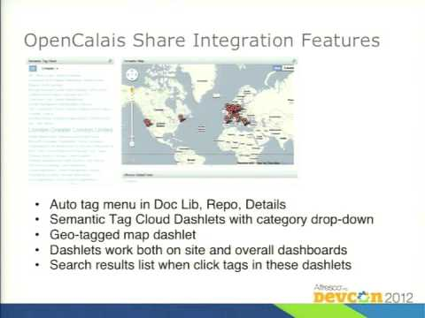 DevCon 2012: Lightning Talk: Open Source Integration of Apache Stanbol Semantic Tech, Steve Reiner