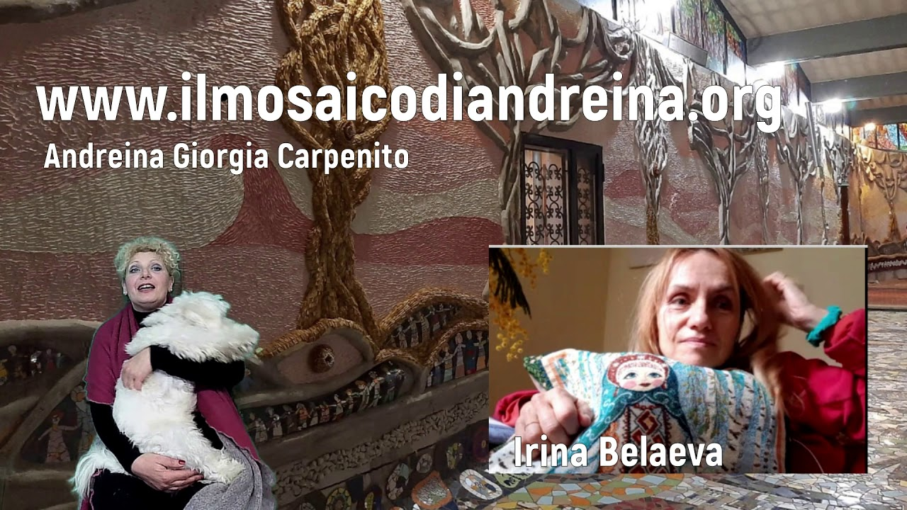 Storie del mosaico: Irina mosaicista bielorussa adottata dalla Sicilia