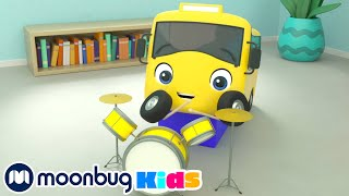Старые игрушки Бастера Автобус Бастер Go Buster Moonbug Kids