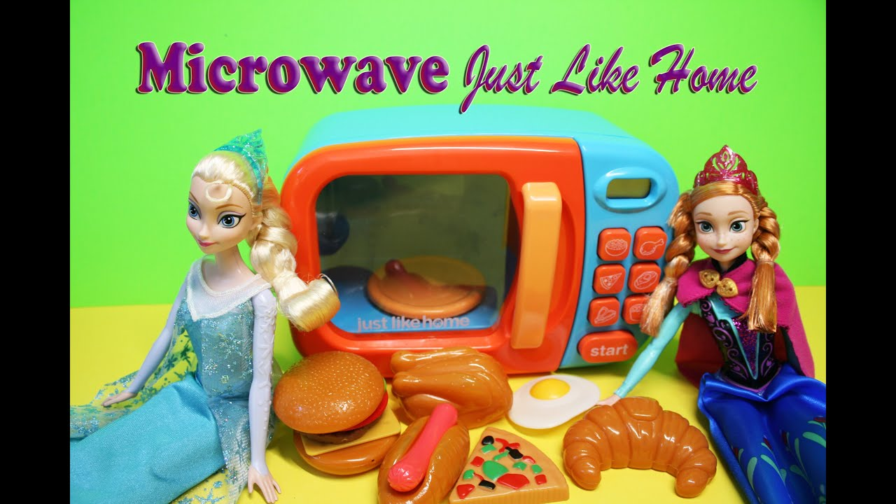 Just Like Home Toys : Microwave just like home pretend toys and kids youtube