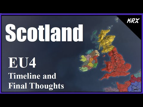 Scotland - Auld Alliance Reversed - Timeline and Final Thoughts - Europa Universalis 4 |