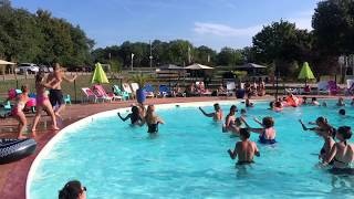 Animation aquagym Camping Les Cigales