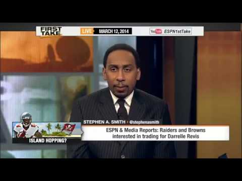 Darrelle Revis Going To the Patriots     ESPN First Take