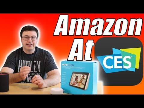 Amazon at CES 2019 - New Products, New Integration, New Features