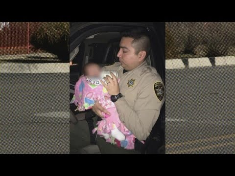 Bernalillo County Deputies care for baby during DWI arrest