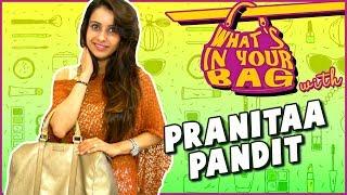 Pranitaa Pandit's Handbag Secret Revealed | What's In Your Bag | TellyMasala