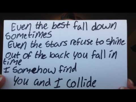 Collide by Howie Day- Lyrics