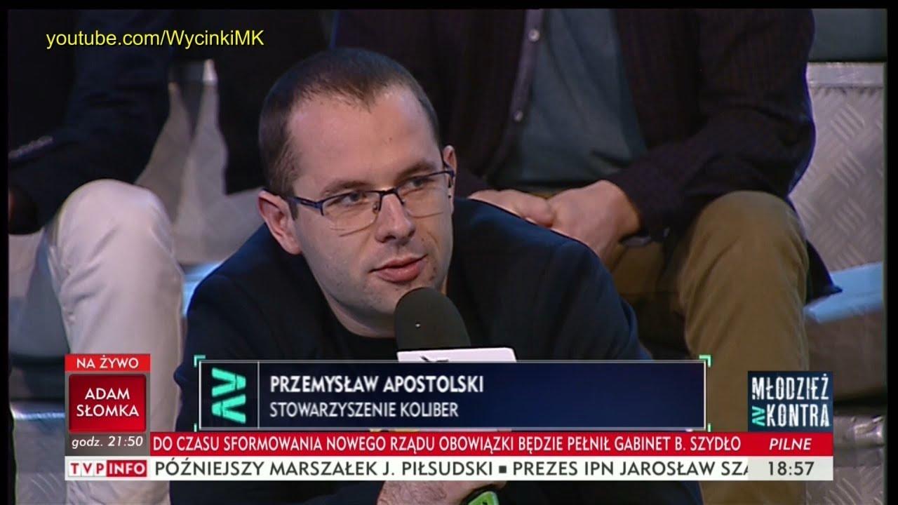 Młodzież kontra 621: Przemysław Apostolski (Stow. Koliber) vs Ryszard Czarnecki (PiS) 09.12.2017