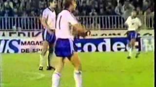 Fußball WM 1986 Qualifikation: Jugoslawien - DDR 1:2