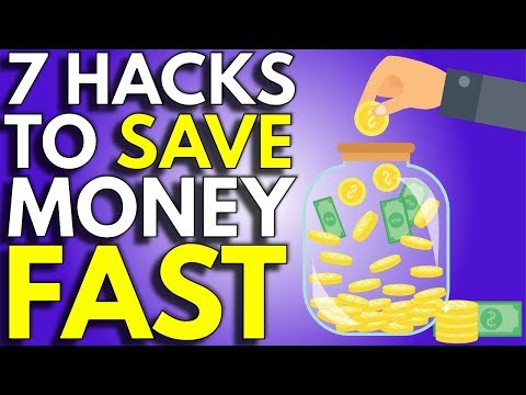 7 Tricks To Save Money Fast | How To Save Money Faster
