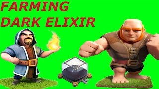 Clash of Clans - cara cepat cari dark elixir TH8 TH9