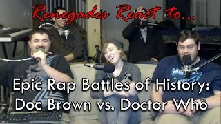 Renegades React to... Epic Rap Battles of History: Doc Brown vs. Doctor Who