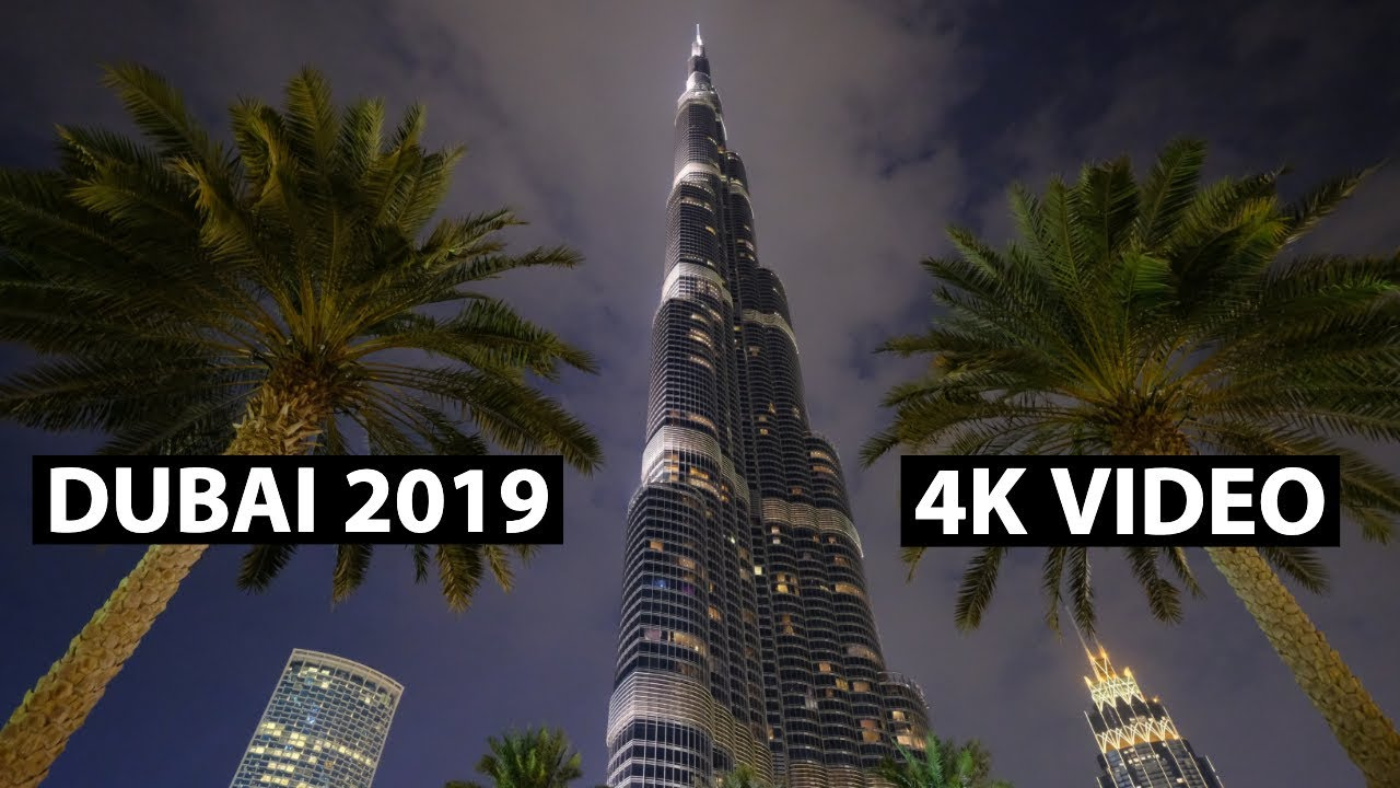 Amazing Dubai Mall and Burj Khalifa | Fujifilm X-H1 4k Video