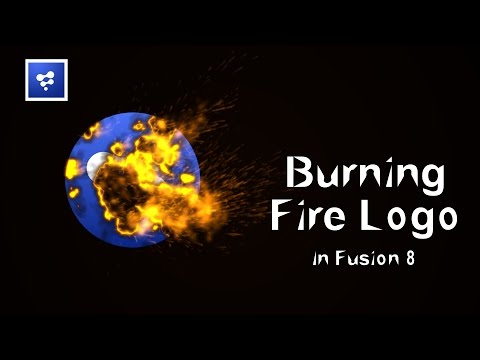 Blackmagic Fusion Tutorials : Burning Fire Effects in Fusion 8