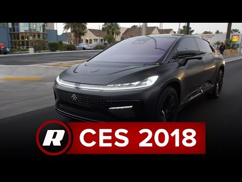 Faraday Future FF91: Exclusive first passenger ride