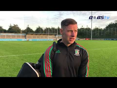 Philly McMahon chats to DubsTV after Ballymun Kickhams claim Senior 1 title