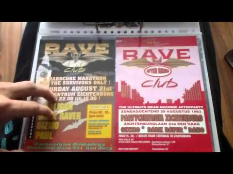 Rave the city flyers