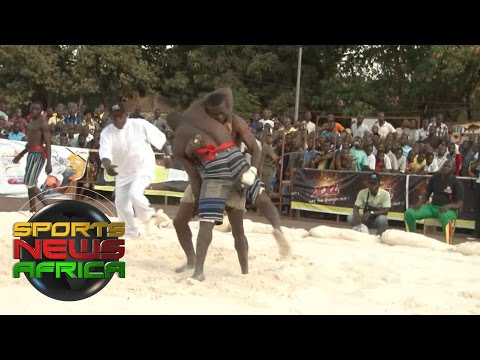 Sports News Africs Online: Greco-Roman wrestling in Burkina Faso