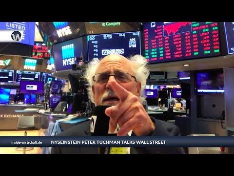 """NYSEinstein am 16.4.2019: """"mehr rot als grün an der Börse"""""""
